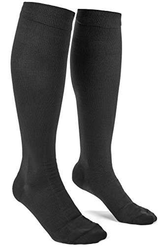 LadyLuxe Women's Compression Socks: Premium Knee High Support Stockings For Ladies. Guaranteed Best Hose For Pain, Medical Nurses, Running, Travel, Maternity, Pregnancy, Tights, & Leggings.