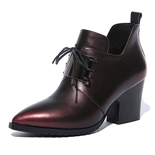 YL Women's Boots brown brown MeReOS42yq