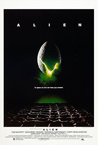 Alien Directors Cut Original Movie Poster Double Sided 27x40
