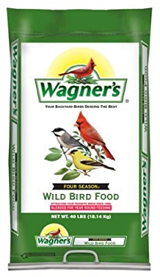 Wagner's 13013 Four Season Wild Bird Food, 40-Pound Bag from Wagners
