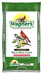 Wagner\'s 13013 Four Season Wild Bird Food, 40-Pound Bag