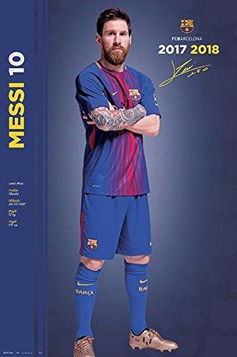 Close Up Lionel Messi Poster FC Barcelona (61cm x 91 6f09080254c4b