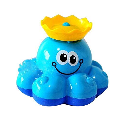Spielzeug Badespielzeug lustigKrake Rotierend Wasserspritz Baby Badefreunde für Kinder