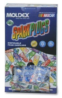 (Moldex Sparkplugs Earplugs in PlugStation Dispenser Box - Uncorded (200 Pairs per Dispenser) (1 Dispenser Box) - AB-266-2-70)