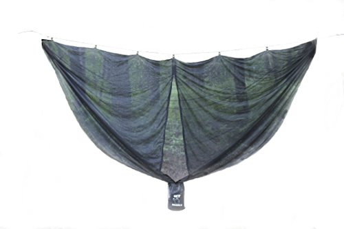 - Get Grizzly No Bite Hammock Bug Net, No Mosquitos, Fits All Camping Hammocks and Many Backyard Models. Compact, Lightweight. Fast Easy Setup. Size 132