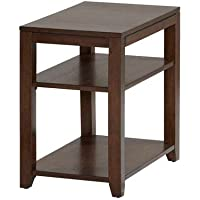 Progressive Furniture P531-29 Daytona Chairside Table, Regal Walnut