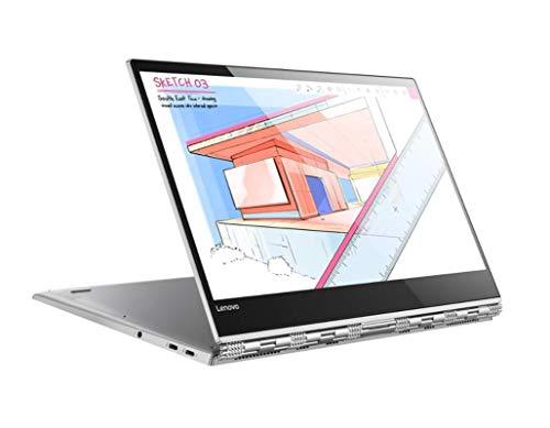 Lenovo Yoga 920 – Portátil táctil convertible 13.9″ UHD (Intel Core i7-8550U, 8GB RAM, 512GB SSD, Intel UHD Graphics 620, Windows 10 Home), Color Plata – Teclado QWERTY Español