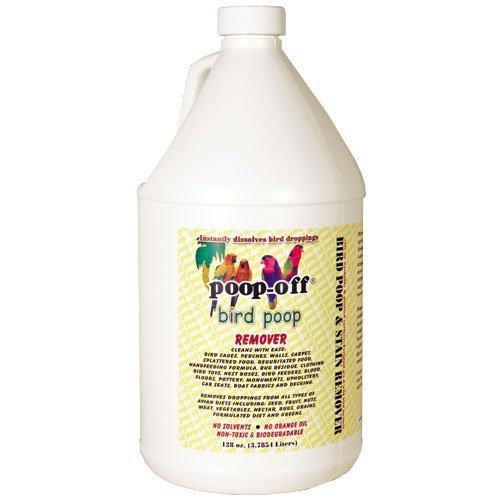 Poop Off Gallon - Poop-Off Bird Poop Remover Refill, 128-Ounce by Poop-Off