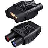 GTHUNDER Digital Night Vision Goggles Binoculars for Total Darkness—Infrared Digital Night Vision Large Viewing Screen  32GB Memory Card for Photo and Video Storage—Perfect for Surveillance