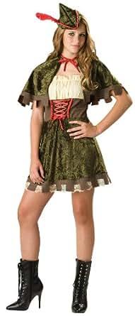 Disfraces Incharacter IC14011-L adolescente Tama-o Robin Hood Disfraz grande