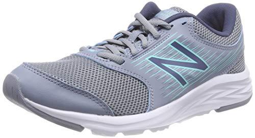 Balance 411 Running Grey New grey Donna Blu Scarpe Odp6xx5nqw