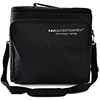 FAVI Universal Video Projector Travel Bag - US Version (Includes Warranty) - Black (FE-LG-BAG-BL)