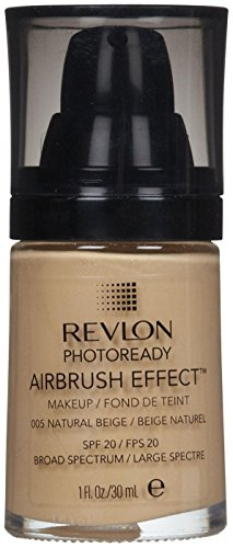 41P1vxxxf-L Revlon PhotoReady Airbrush Effect Makeup,  Natural Beige
