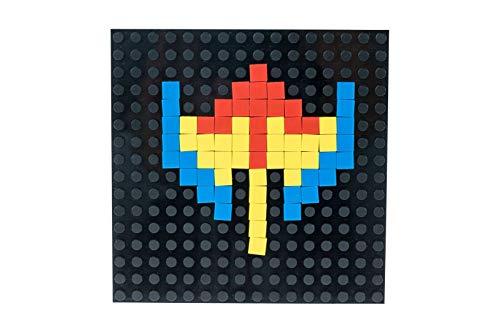 Strictly Briks Pac-Man & BANDAI NAMCO Entertainment Inc | Pac-Man Item Brick Pixel Building Set - 342 Pieces