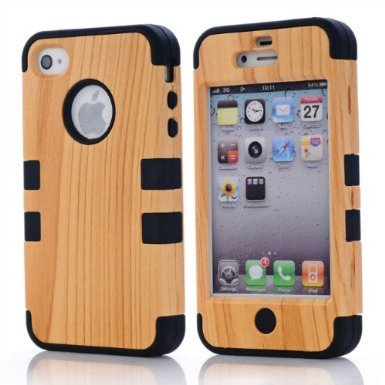 shhr-hard-wood-silicone-design-hybrid-case-for-apple-iphone4-4s-4g-black-color