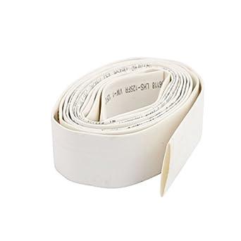 eDealMax 15mm 2: 1 tubi termorestringenti tubo manicotti filo Bianco del cavo 1.9M Lunghezza: Amazon.com: Industrial & Scientific