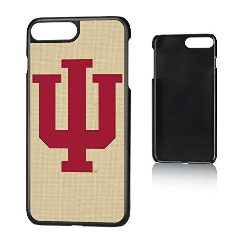 Keyscaper NCAA Indiana Hoosiers Unisex Apple iPhone Slim Caseslim Case, Black, iPhone 8 Plus/ 7 Plus/ 6 Plus by Keyscaper