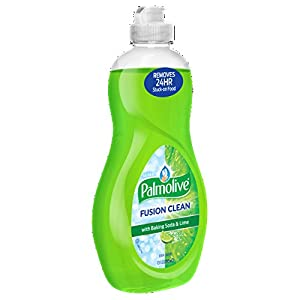 Palmolive Ultra Fusion Baking Soda and Lime Clean Dish Soap, 5 x 10 Fl Oz