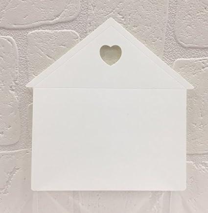 5135b30741ff 20 PZ Casa Casetta notes SEGNAPOSTO tableau mariage matrimonio  Amazon.it   Casa e cucina