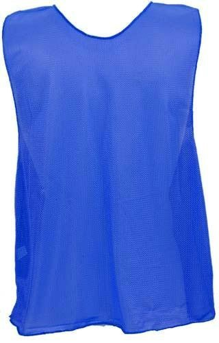 - Adult Blue Micro Mesh Team Vest - Set Of 12 by Olympia Sports