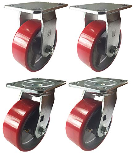 - 4 Heavy Duty Caster Set 4