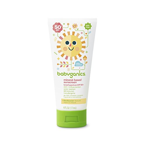 All Natural Baby Sunscreen
