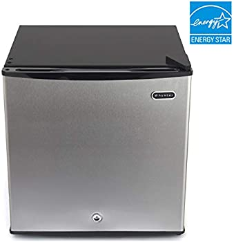 Whynter 1.1 cu. ft. Energy Star Upright Lock-Stainless Steel Freezer