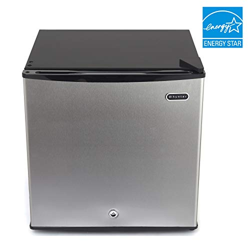"""Whynter CUF-112SS 1.1 cu. ft. Energy Star Upright Lock-Stainless Steel Freezer, Cubic Feet"""