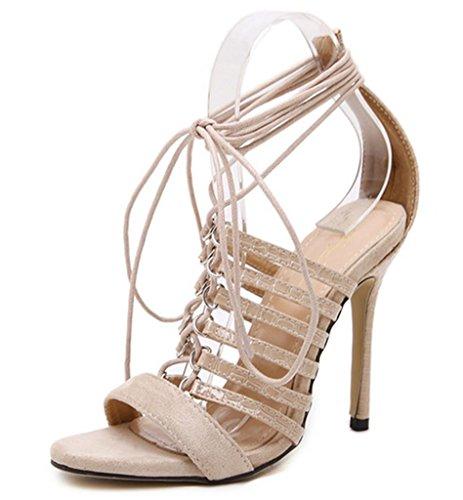 Narusandaalit Shoes Varpaat Mnii Muoti Korkokengät Naisten Kesällä Peep On Musta Kenkä xqrzZw0q8