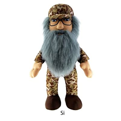 "Duck Dynasty Si 8"" Plush Character with Sound: Toys & Games"