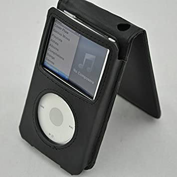 New Leather Flip Case Cover For Apple iPod classic 80G//120G /& 3 Generation 160G