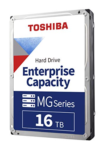 "Toshiba Enterprise HDD 16TB 3.5"" SATA"
