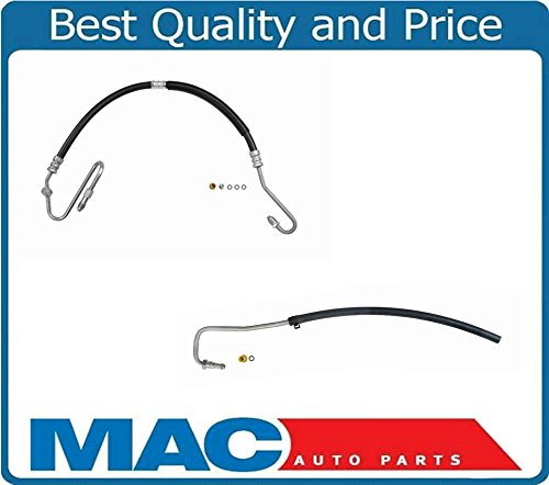 2 Power Steering P /& R Hose 00-04 Dakota 4.7 5.9 4x4 With Switch Port in Hose