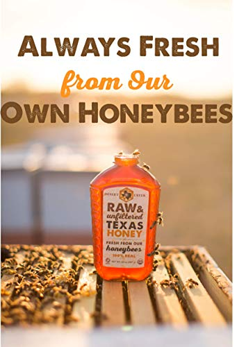 Raw, Unfiltered, Unpasteurized Texas Honey by Desert Creek Honey 5 Gallon (60 lbs) Bulk Bucket Non-GMO, Kosher by Desert Creek Honey (Image #3)