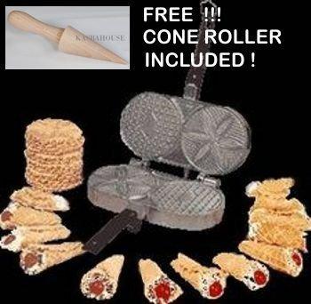 Palmer Pizzelle Maker - Made in USA Home Supply Maintenan...