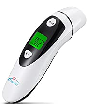 TrackAid Medical Forehead and Ear Thermometer, Infrared Digital Thermometer Suitable for Baby, Infant, Toddler and Adults