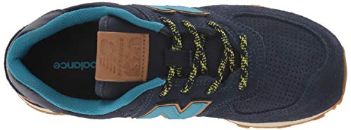 New Balance Boys' Iconic 574 Sneaker Pigment/Cadet 10 M US Toddler by New Balance (Image #7)