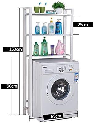 Estantes de la lavadora ZCJB Cuarto De Baño Lavadora Estantes ...