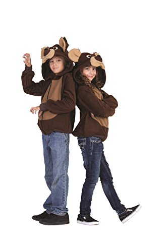 RG Costumes 'Funsies' Bailey Bear Hoodie, Child Medium/Size 8-10 ()