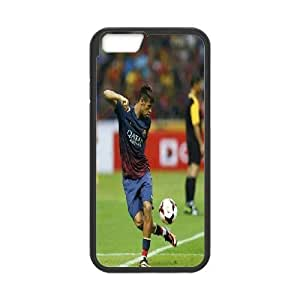 [Neymar Jr Series] IPhone 6 Plus Cases Neymar Jr With Football On Foot, Iphone 6plus Case Cute Yearinspace - Black
