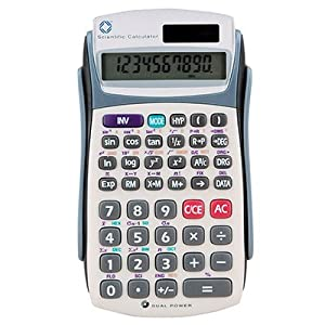 10-Digit Handheld Scientific Calculator with Hard Case CEB95113
