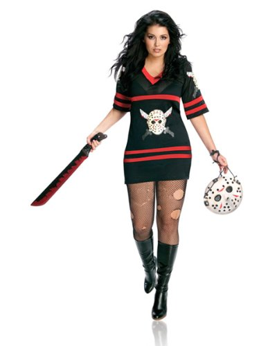 Secret Wishes Womens Plus-size Full Figure Friday The 13th Miss Voorhees for $<!--$78.73-->