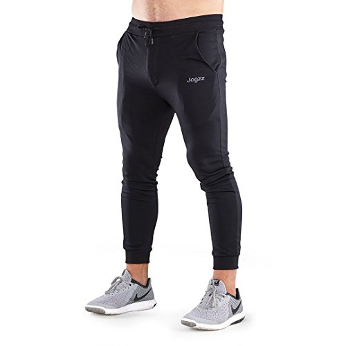 Healthyezz Personal Care Jogzz Joggers for Men - Zipper Fly- Skinny Mens Joggers - Sweatpants for Men