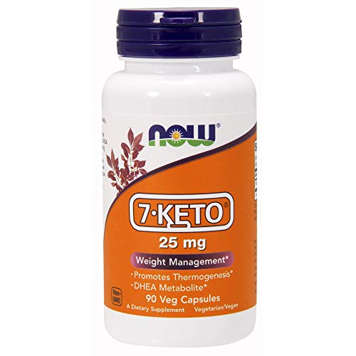 - NOW Supplements, 7-Keto 25 mg, 90 Veg Capsules