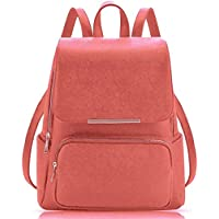 JSPM® Women BackPack With Beautiul Peach Color Casual Backpak (SP-0290 Peach)