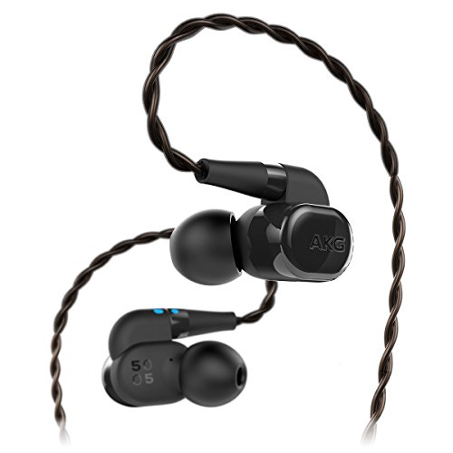 AKG N5005 Reference Class Wireless In-Ear Headphones with In-Line Remote and Microphone by AKG