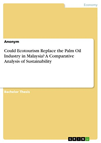 Could Ecotourism Replace the Palm Oil Industry in Malaysia? A Comparative Analysis of Sustainability (Replaces Atlas)