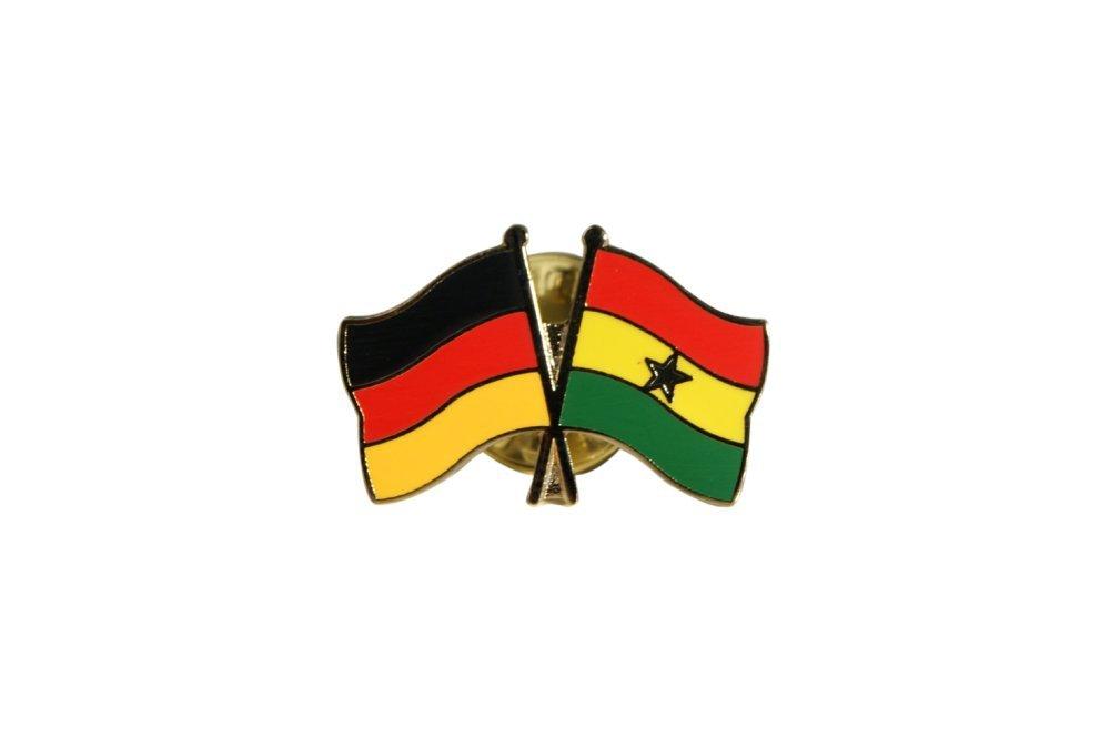 Flaggenfritze/® Freundschaftspin Deutschland Ghana