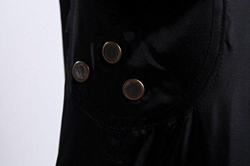 45 chaqueta Chaqueta Impermeable Vuelo vuelo repelente dinamico Hombres Negro agua de CWU Luz Abrigos de Seibertron P wXZvTqn