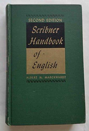 Scribner handbook of English